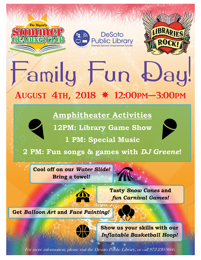 Family Fun Day Ending Party Flyer 2018-672w