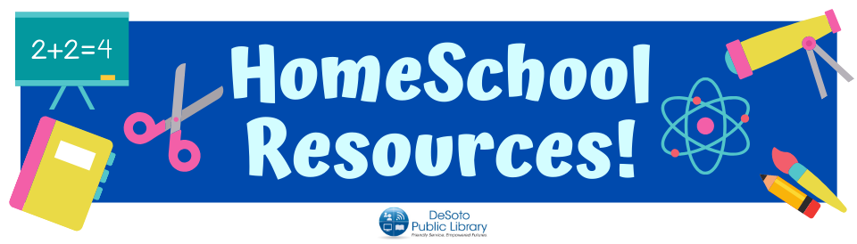 HomeSchool Resources Spring 2020 -- click for more information
